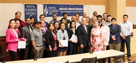 Uh Mba Student Organizations by Beta Gamma Sigma Of Houston Downtown