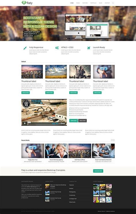bootstrap themes live 5 advanced html5 twitter bootstrap templates with a
