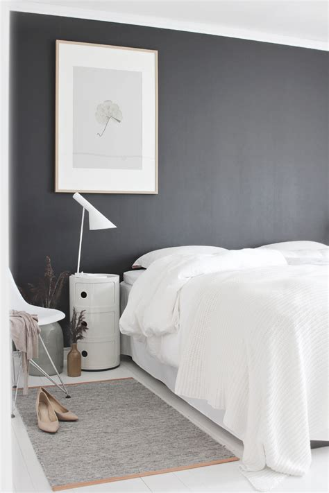 black gray white bedroom neutrals and contrasts stylizimo