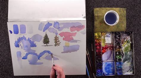 watercolor tutorial basic back to watercolor basics a crash course for watercolor