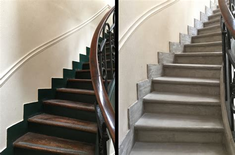 Deco Cage D Escalier by R 233 Novation De Cage D Escaliers D Immeuble Anciencr 233 Ations