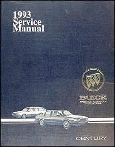 1993 buick century repair manual 93 custom special ebay