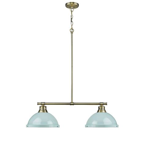 aged brass pendant light fifth and main lighting manhattan 4 light aged brass