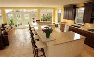 kitchen island with bar seating the most popular kitchen island shapes home decor help