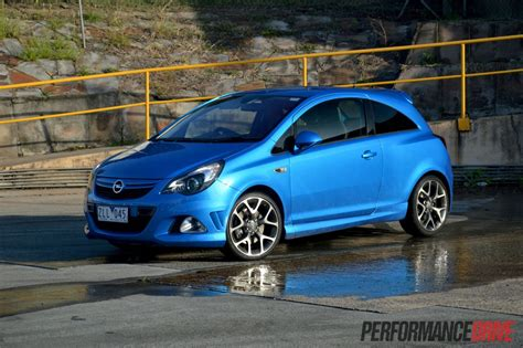 opel opc 2013 opel corsa opc review video performancedrive