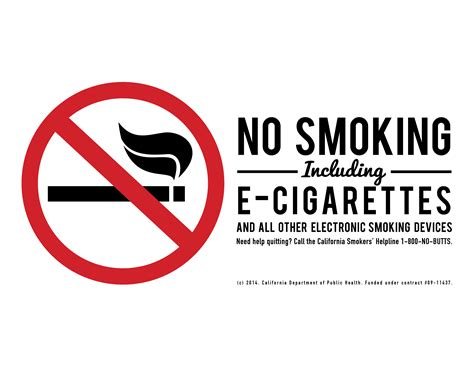 no smoking sign without cigarette team lab materials tobacco education and materials lab