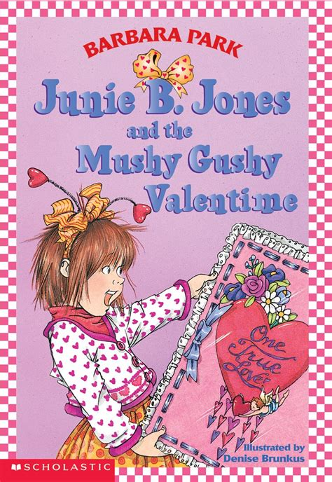 junie b jones valentines junie b jones and the mushy gushy valentime by barbara