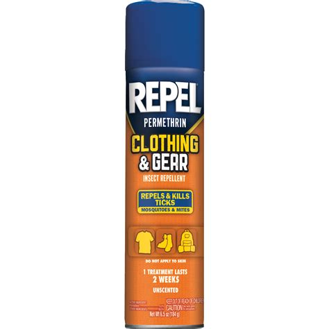repel clothing gear repellent aerosol 6 5 oz fitness