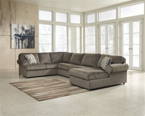 Jessa Place Dune 3 Pc Chaise Sectional Price Busters