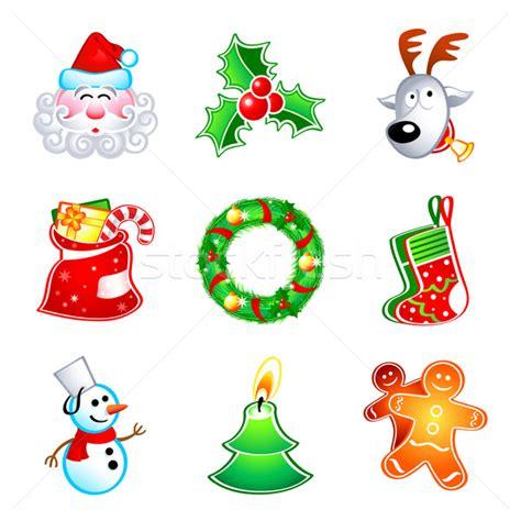 clipart natalizi icons vector illustration 169 sahua 1140104