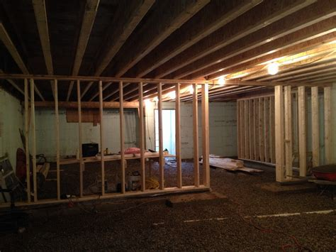 build a basement wall construction building our home