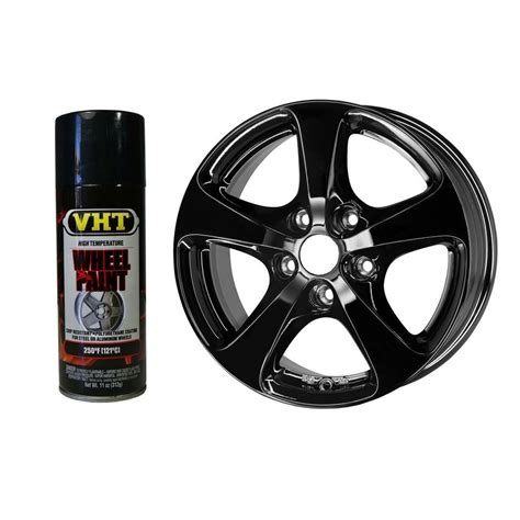 dupli color car paint vht sp187 paint gloss black wheel paint aerosol automotive