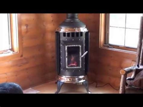 Free Standing Corner Gas Fireplace by Country Fireplace Corner Install Of Thelin Freestanding