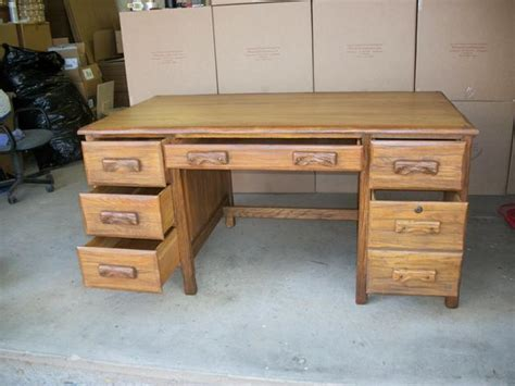 Ranch Oak Desk by Ranch Oak Desk