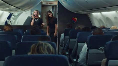 southwest commercial actress dancing southwest airlines tv spot quiet landing ispot tv