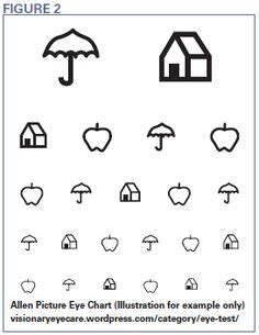 printable toddler eye chart 1000 images about functional vision testing on pinterest