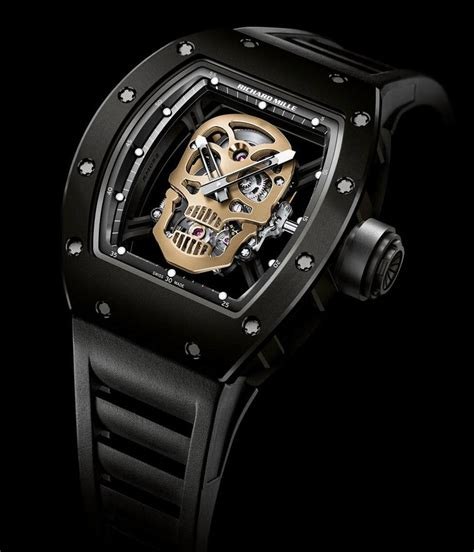 Richadr Mille richard mille s panda and skull watches at baselworld 2013 extravaganzi