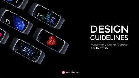 design criteria for gears gear fit2 watchface design guide