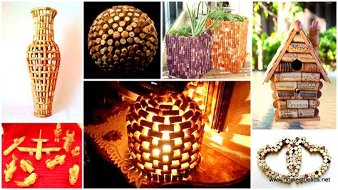 Creative Craft Ideas For Home Decor by 35 Clever And Creative Diy Cork Crafts That Will Enhance