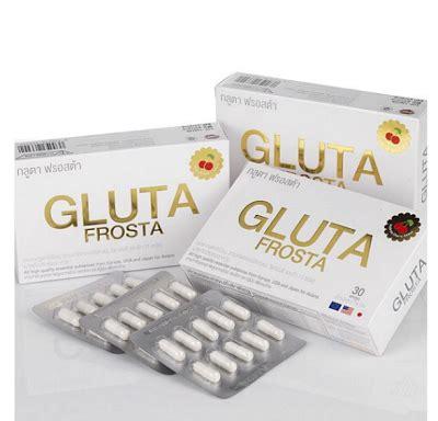 Gluta Frosta saye jual murah2 jer yang pasti original ok 0126148131