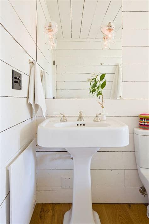 tiny house bathroom design paneled walls design ideas