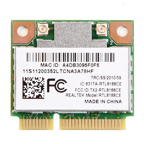 Wifi Card Laptop Asus realtek rtl8188ce laptop pci express wifi card wireless wlan wifi adapter for acer asus dell