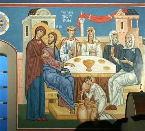 The Wedding Feast At Cana 2 1 11 by Holy Cross Monastery Sermons Epiphany 2 C Jan 20 2013