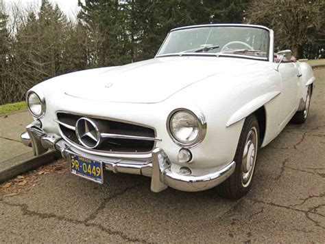 antique mercedes 1961 mercedes benz 190sl for sale classiccars com cc