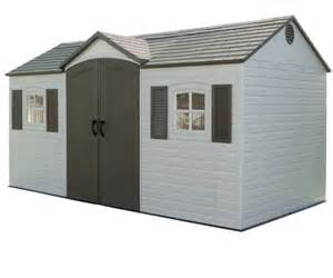 Outdoor Storage Buildings Lifetime 6446 Outdoor Storage Shed Large Outdoor Sheds