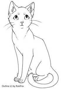 cat templates shorthair cat template by rukifox on deviantart