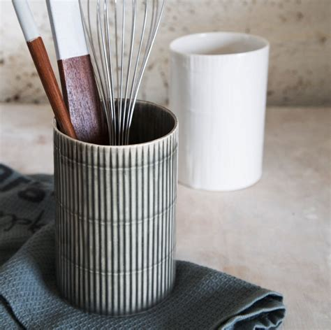 kitchen utensil holder ceramic utensil holder ceramic kitchen by 1220ceramicsstudio