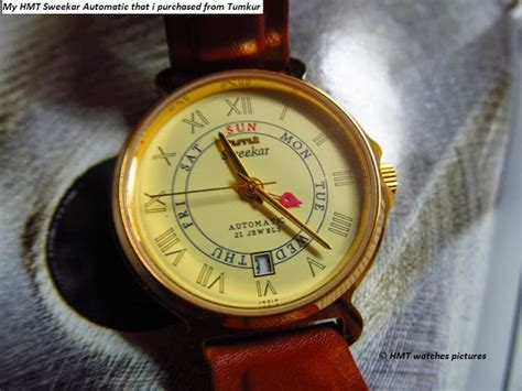 hmt watches time keeper of generations recent visit to