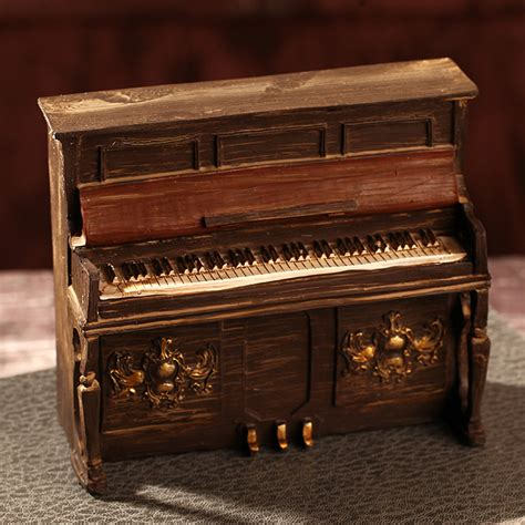 zakka home decor zakka vintage home decor resin crafts piano model elegant