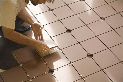 Installing Floor Tile Bathroom Vinyl Tile Vs Ceramic Tile