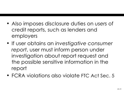 section 29 data protection act request form chapter 48 the federal trade commission act and consumer