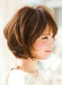 bob with bangs hairstyles for overweight 15 cute hairstyles for short layered hair short