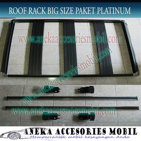 Cross Bar Hitam Jepit Roof Rail Toyota Fortuner 2017 roof rack paket platinum toyota grand new fortuner roof