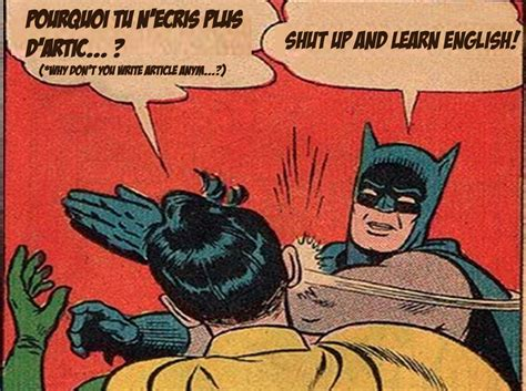 Batman Slapping Robin Meme - my second month online some news entomoveproject
