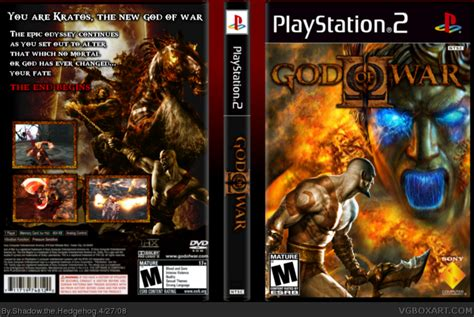 film god of war ps 2 god of war ii playstation 2 box art cover by shadow the