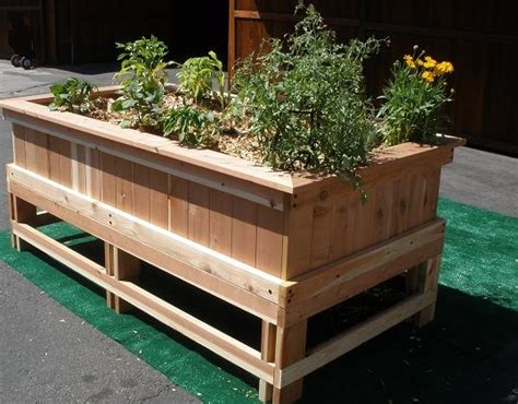 planter box would like it better with corrugated metal