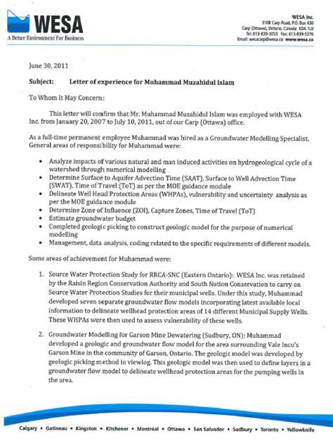 hydrogeologist resume recommendations muhammad islam freelance hydrogeologist
