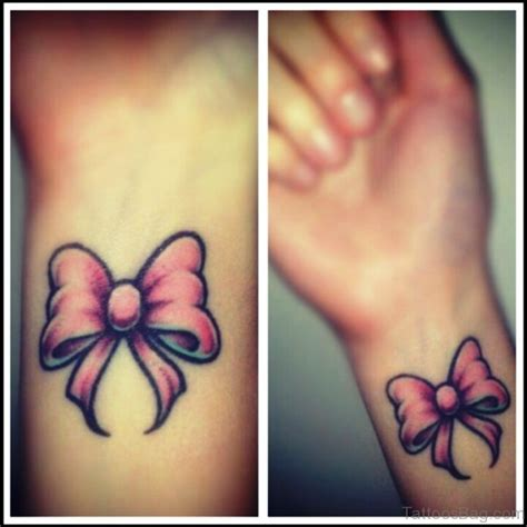 pink bow tattoo 100 terrific bow tattoos on wrist