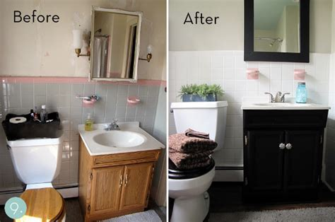 easy bathroom makeover ideas bathroom makeovers tips karenpressley