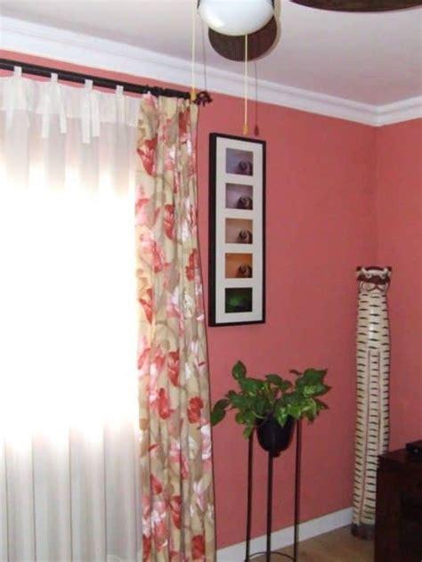 como se hacen unas cortinas diferentes maneras de colgar visillos y cortinas