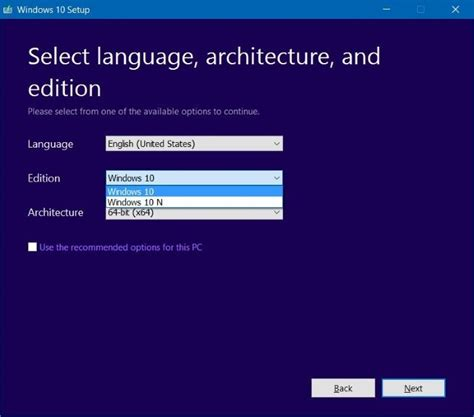 install windows 10 pro how to select pro edition while installing windows 10