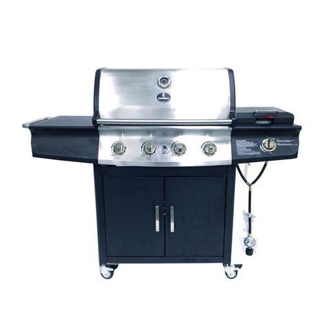 lowes gas grills browning 4 burner 48 000 btu liquid propane gas grill