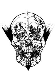 design by humans hybridpanda search results for pink skulls t shirts