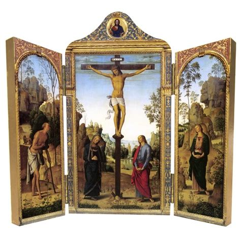 crucifixion triptych the catholic company