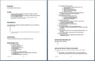 Policy Templates For Business Sample Privacy Policy Template Format Amp Template