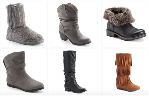 Kohl's.com: Women's Boots as Low as $11.99 Each!